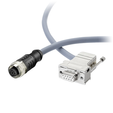 SUB-D Connector plug with cable