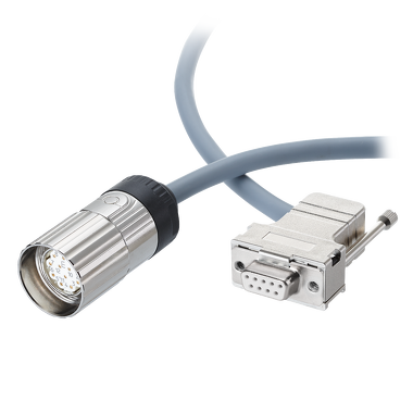 SUB-D Connector with cable ,